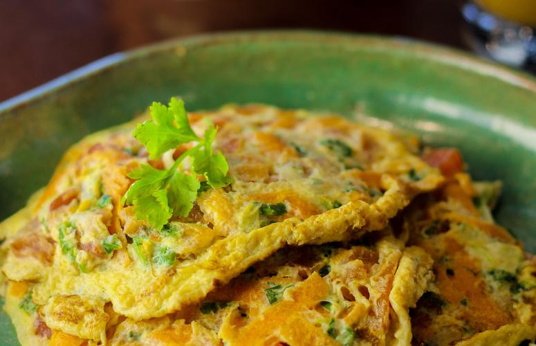 Receita: omelete de legumes