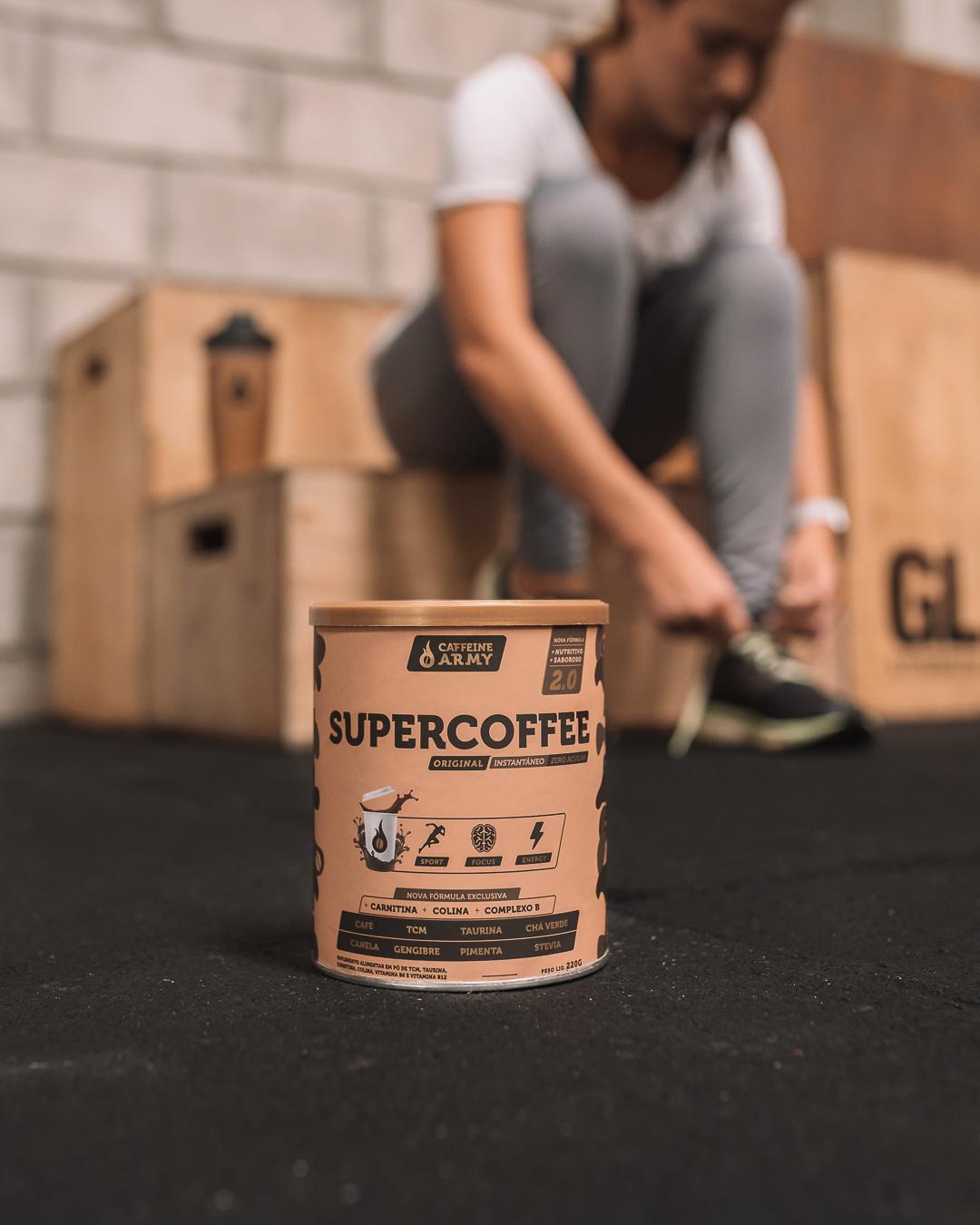 o supercoffee ajuda a alcançar o estado de flow