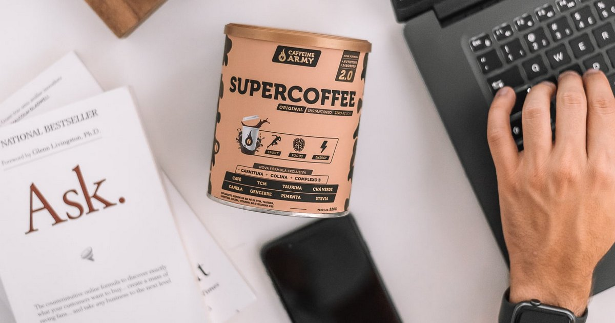 O SuperCoffee contém complexo b