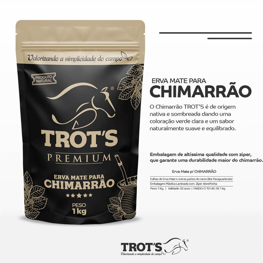 Erva Mate Chimarrão 1kg - TROT´S