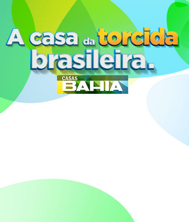 Casas Bahia - A casa da torcida brasileira