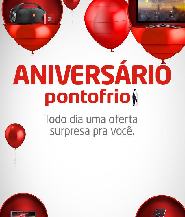 Pontofrio - Aniversário Pontofrio