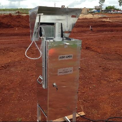 AGV (Amostrador de Grande Volume) / Monitoramento de partículas totais em suspensão no ar