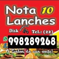 Nota 10 Lanches