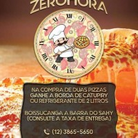 Delivery de pizza zerohora