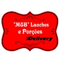"""""""M&B"""" Lanches e Porções Delivery"""