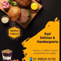 Açaí delícias e hamburgueria Martins
