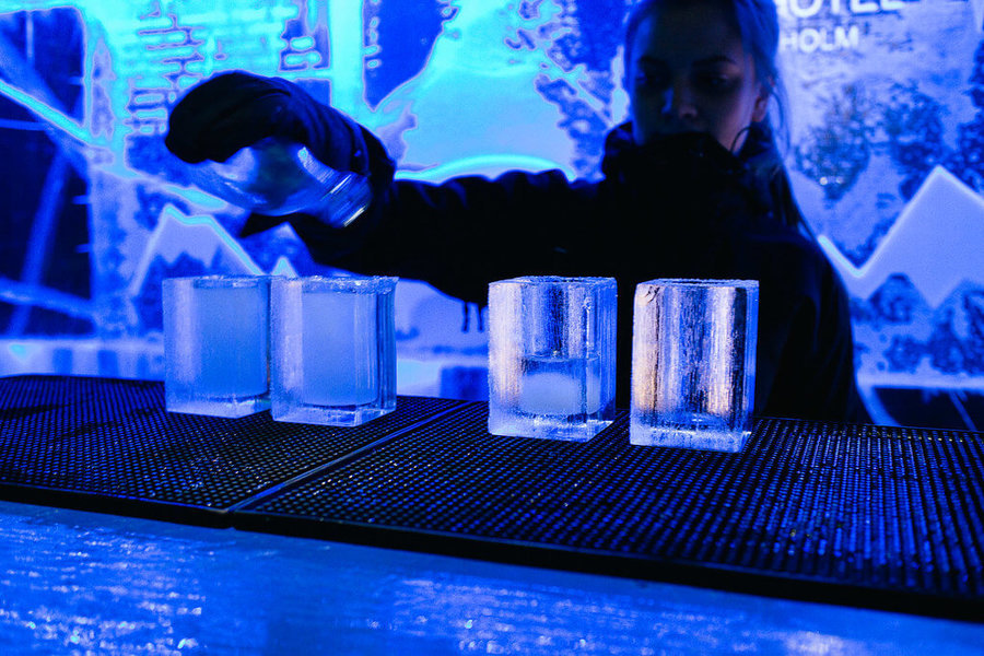 Ice bar iguazu argentina