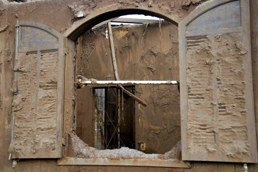 Estudo revela poeira com metais em %c3%a1reas afetadas por lama da samarco