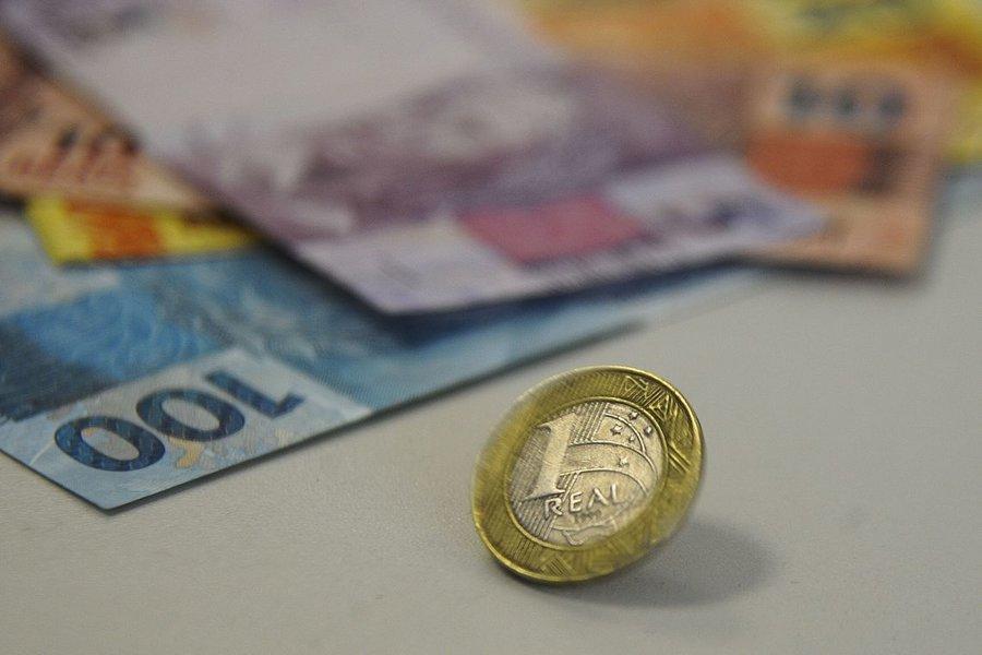 Real nota moedas 8