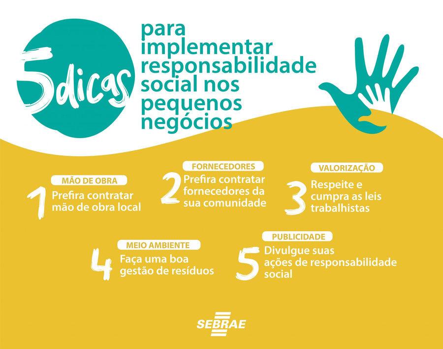 Sebrae mapeia cinco dicas para responsabilidade social nos pequenos neg%c3%b3cios