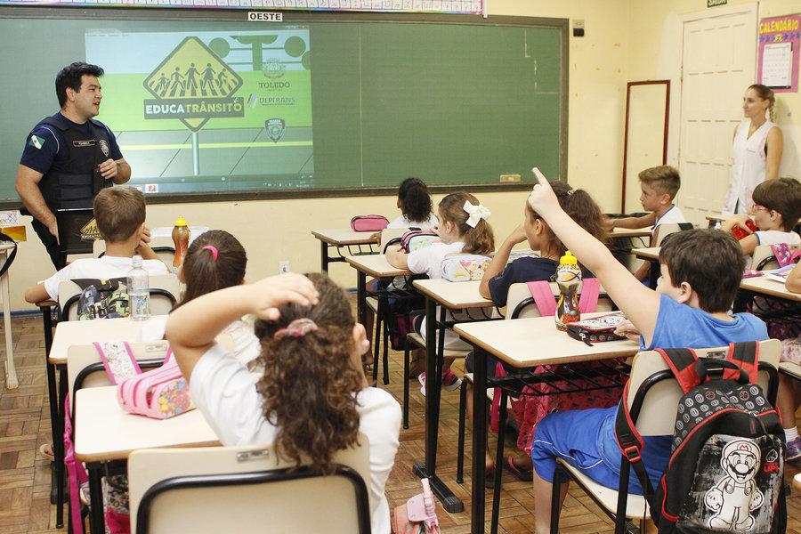 Educatr%c3%a2nsito retoma as atividades deste ano