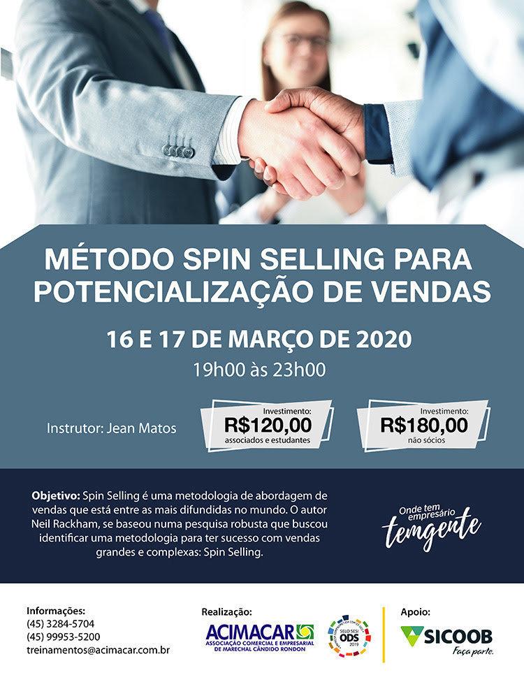 Acimacar apresenta m%c3%a9todo spin selling para potencializa%c3%a7%c3%a3o de vendas