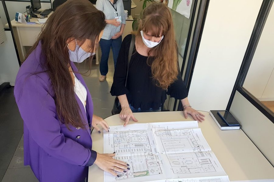Projeto reforma biblioteca publica oscar silva dielson kleber pickler 2