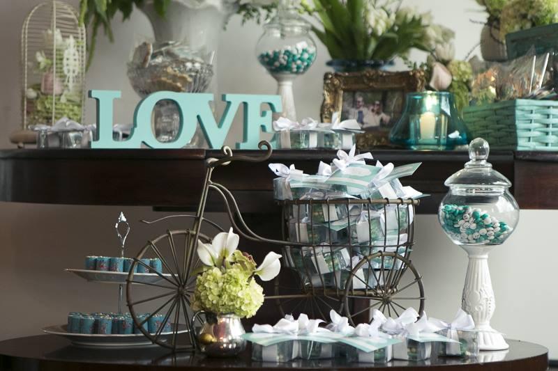 decoracao de casamento azul tiffany e amarelo : decoracao de casamento azul tiffany e amarelo:Início Noivados Reais Noivado Azul Tiffany – Mayra e Alex