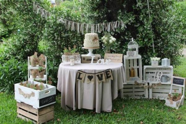 Inspirações mini wedding rústico vintage - Casar.com