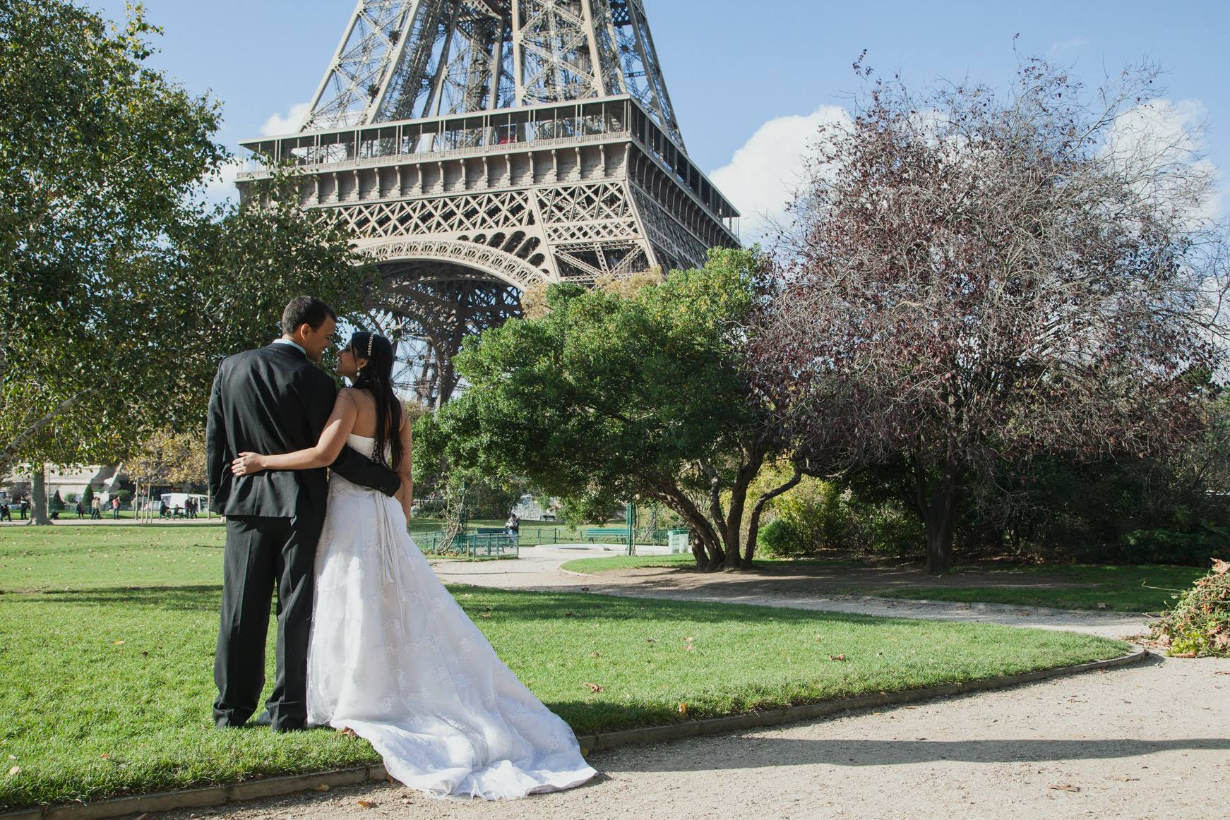 Cherish the Dress em Paris – Carolina e Ricardo