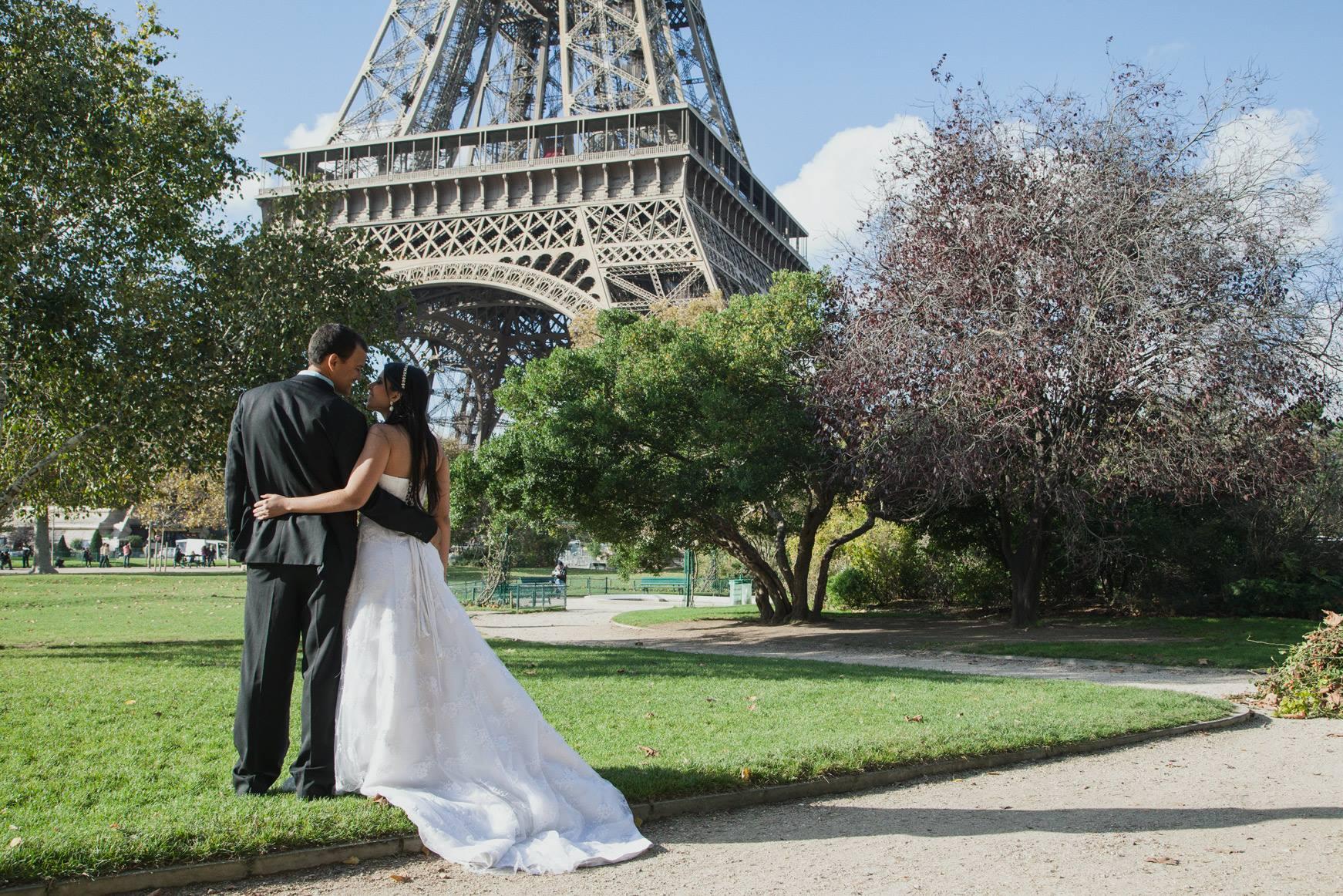 Cherish the Dress em Paris – Carolina e Ricardo