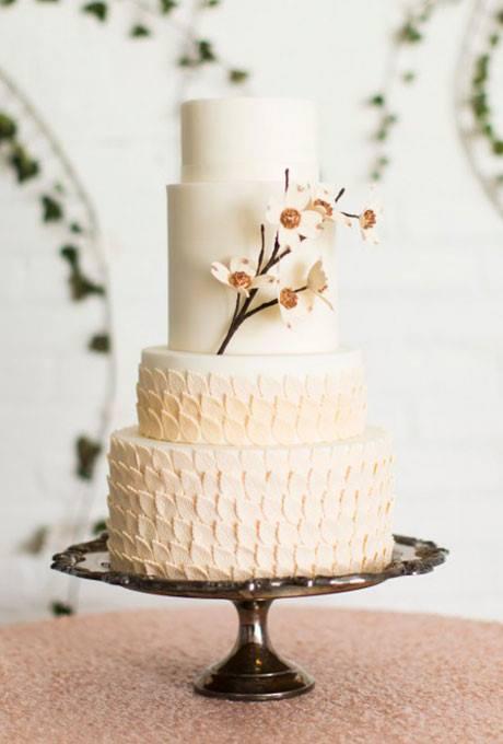Os 25 bolos de casamento mais lindos para te ajudar a escolher!