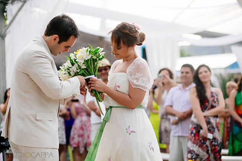 A cerimônia de casamento mais diferente que você já viu