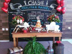 Decoração Chá Bar