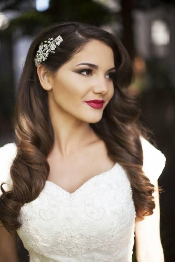 Ideias De Penteados Com Cabelo Solto Para Noivas Casarcom