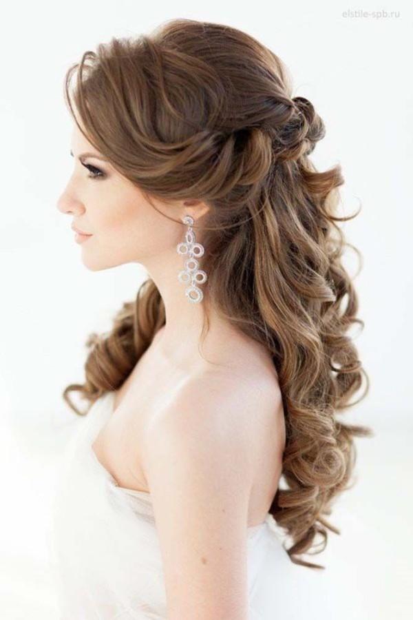 Ideias De Penteados Ondulados Para Noivas Casarcom