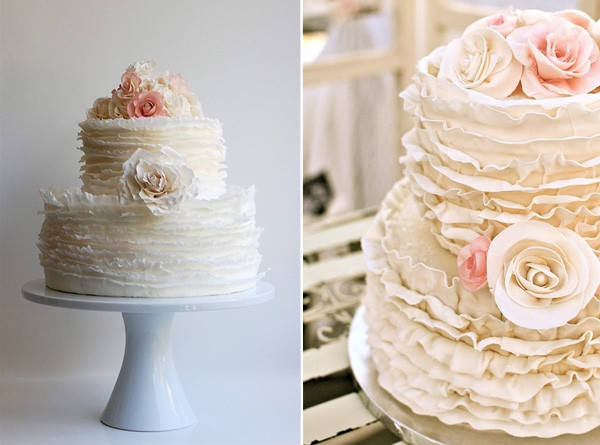 Cake Design On Pinterest : 6 tendencias de bolos e doces para casamento Casar.com