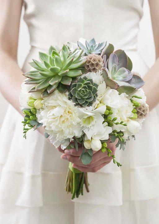 Muitas vezes 28 ideias de buquês com suculentas para as noivas | Casar.com MW55