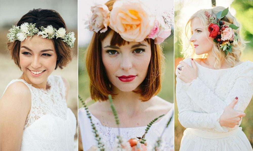 Ideias De Penteados Para Noivas Com Cabelo Curto Casarcom