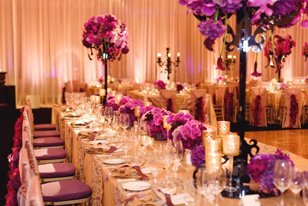 Tendência: mesas compridas para casamento