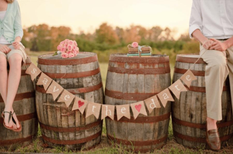 Save the date: como anunciar a data do seu casamento