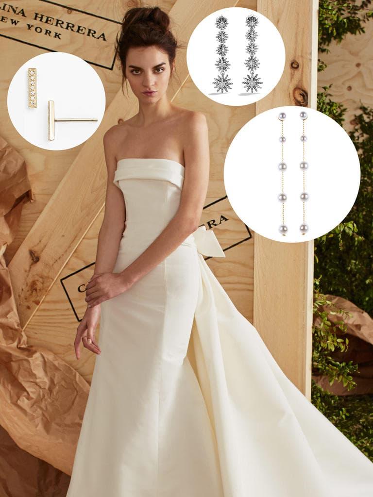 b051a57dbb O brinco ideal de acordo com o estilo do vestido de noiva ...
