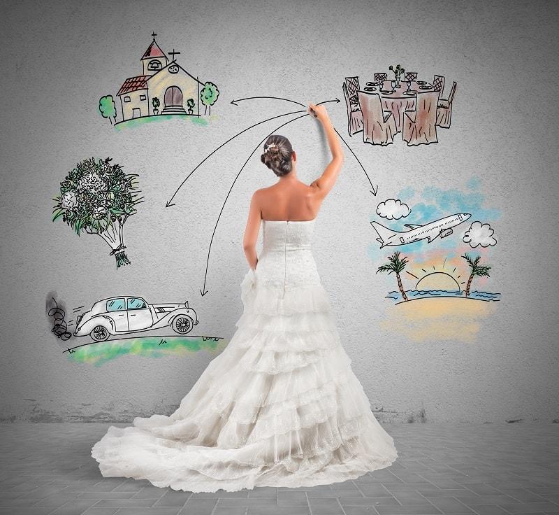 8 coisas que toda noiva precisa saber para organizar o casamento