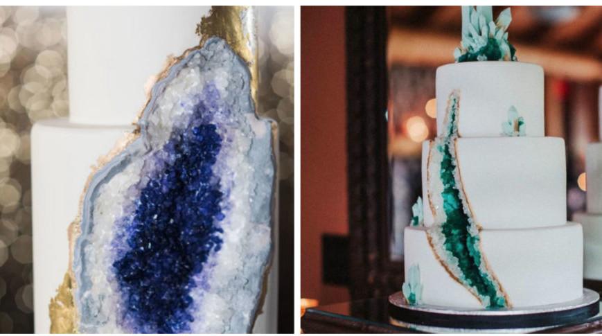 Procurando um bolo de casamento diferente? O bolo-joia vai conquistar você