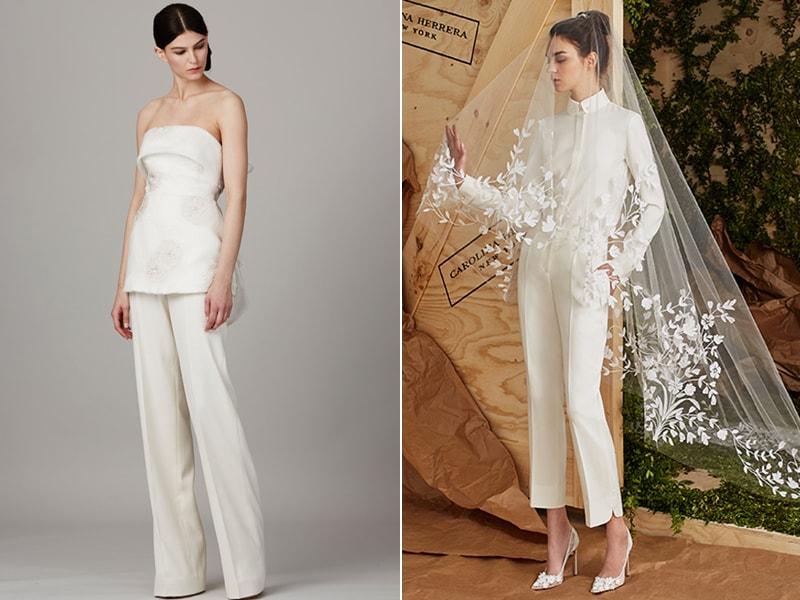 6 Looks Para Noivas Que Querem Usar Calça No Casamento