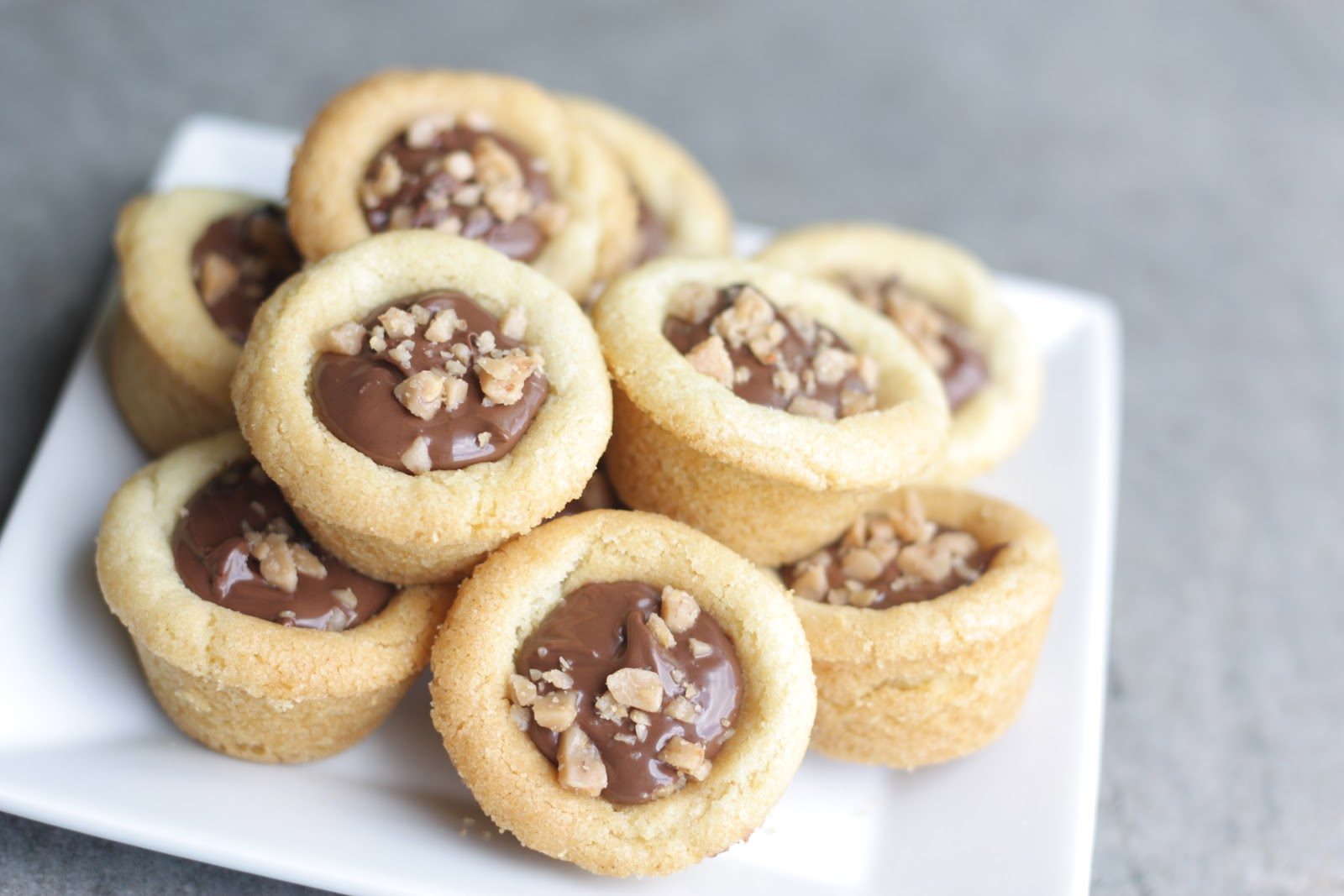 7 Nutella Cookie Cups-min