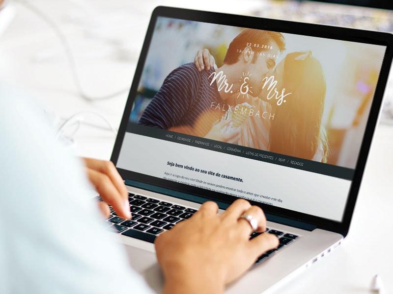 4 razões para criar um site de casamento