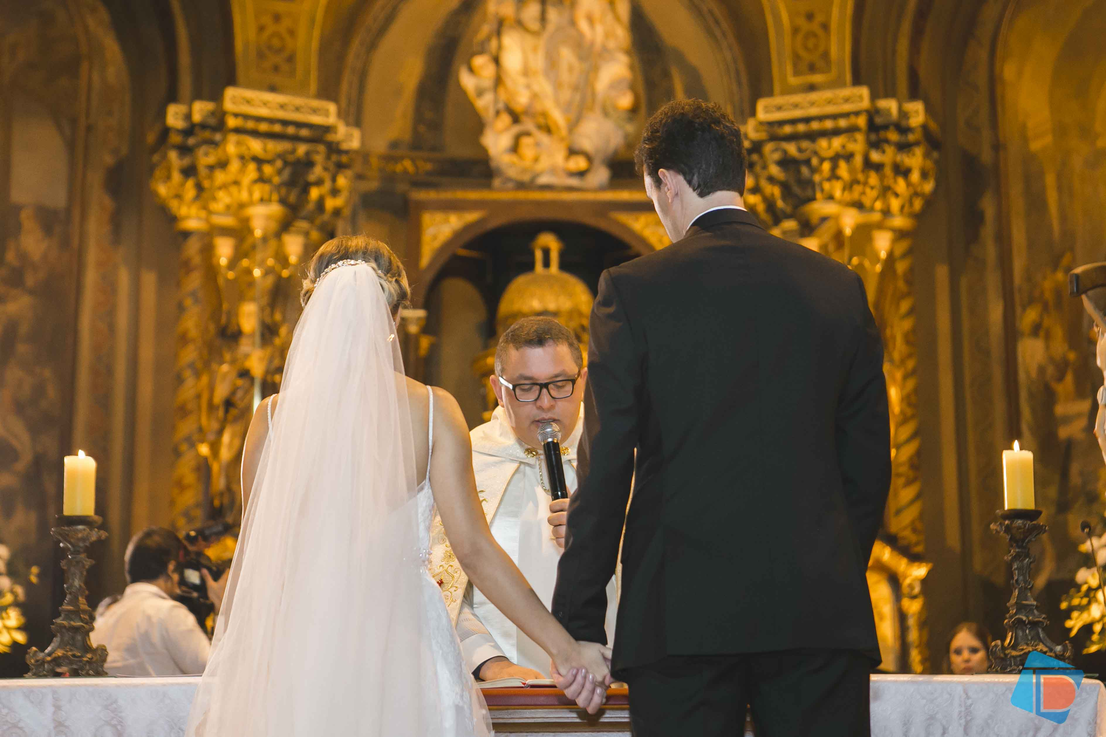 Casamento Com Decora O Em Tons De Rosa Carolina E