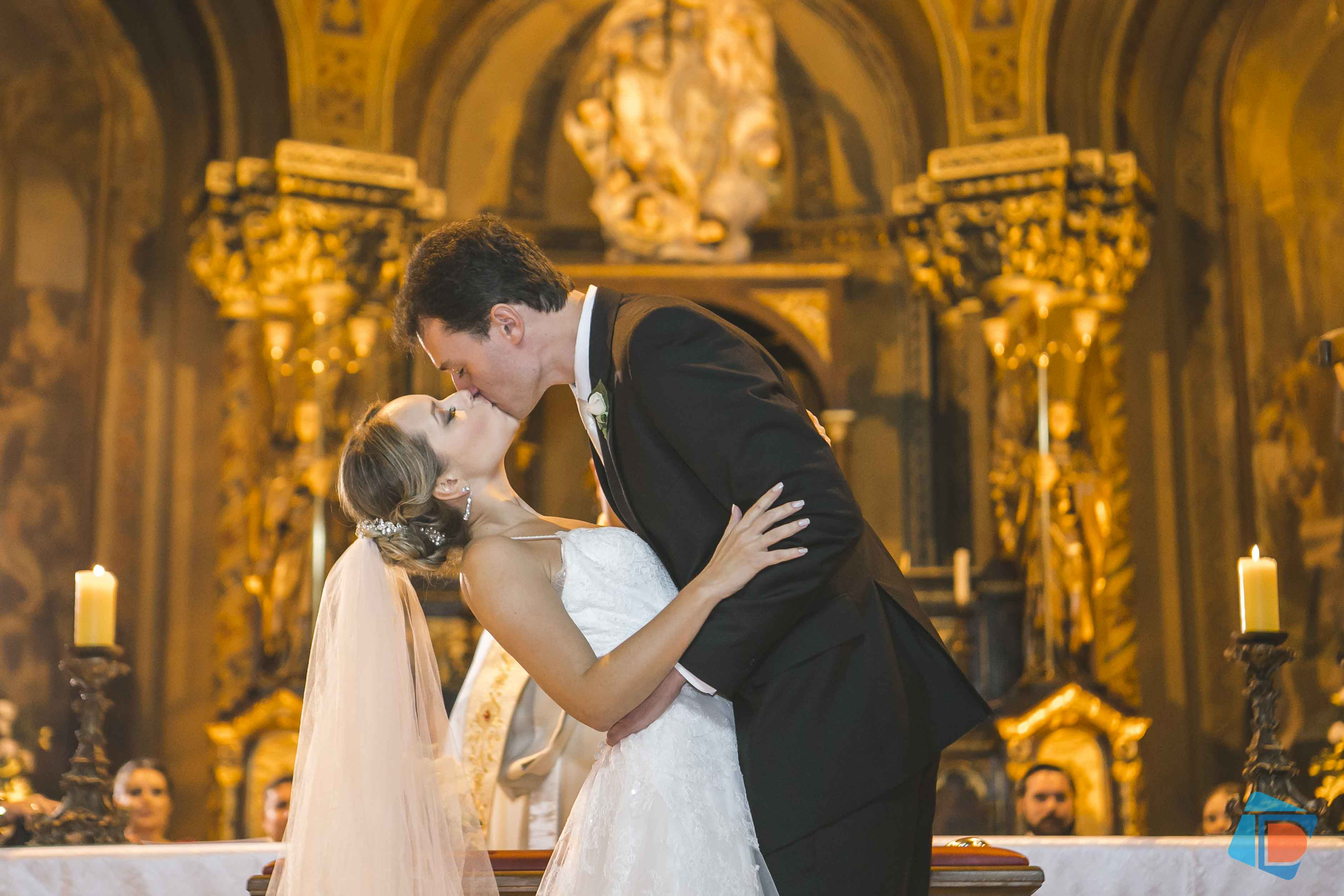 Casamento com decoração em tons de rosa – Carolina e Renato