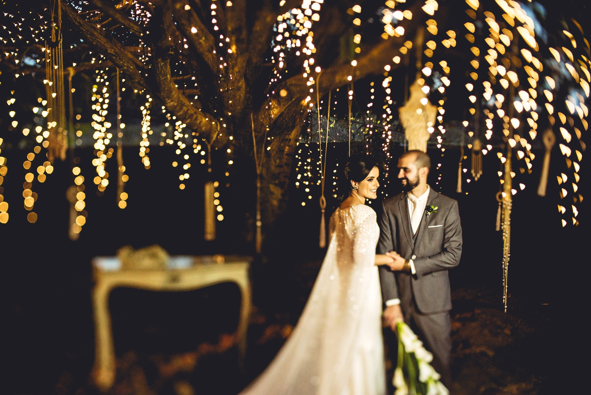 Casamento ao ar livre: Leca e Juliano