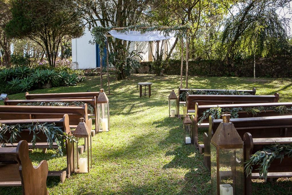 Casamento na fazenda: David e Roberta