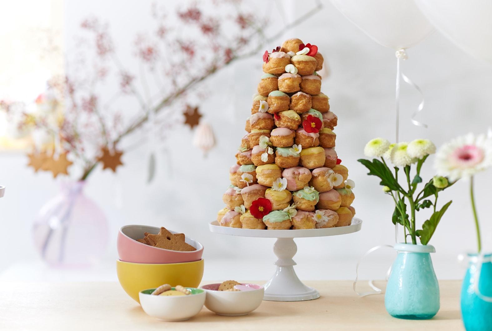 Torres de doces para o seu casamento ou chá de panela