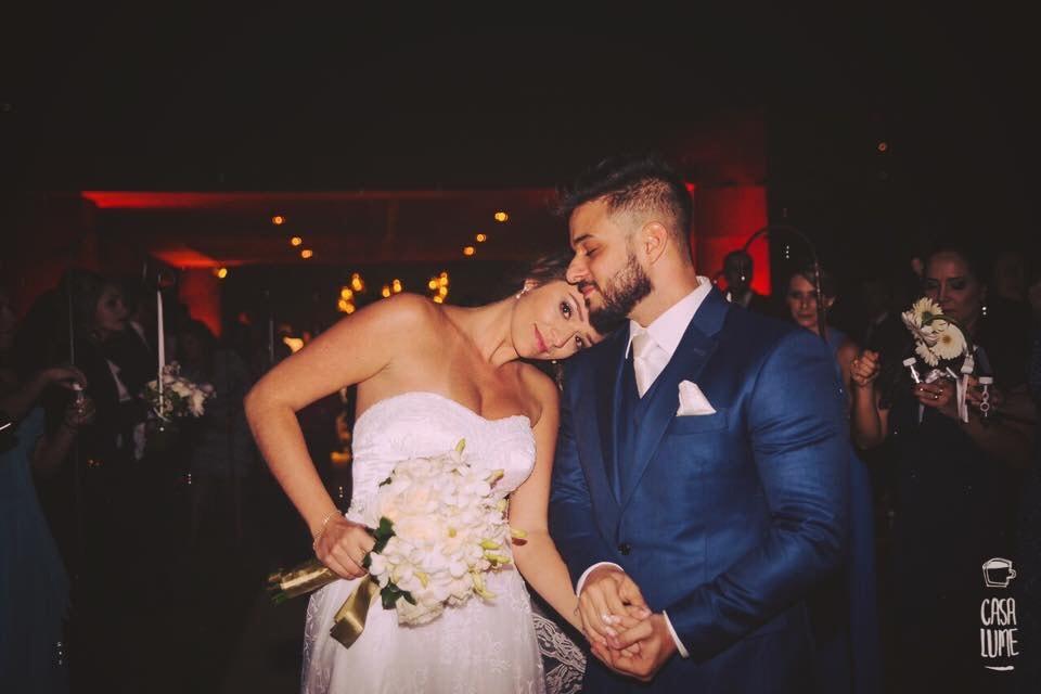 Este casamento foi organizado em apenas seis dias