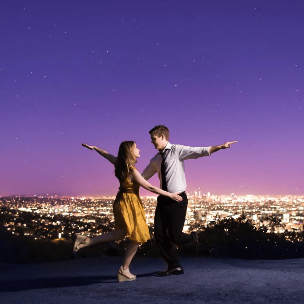"Casal faz ensaio pré-casamento inspirado no filme ""La La Land"""