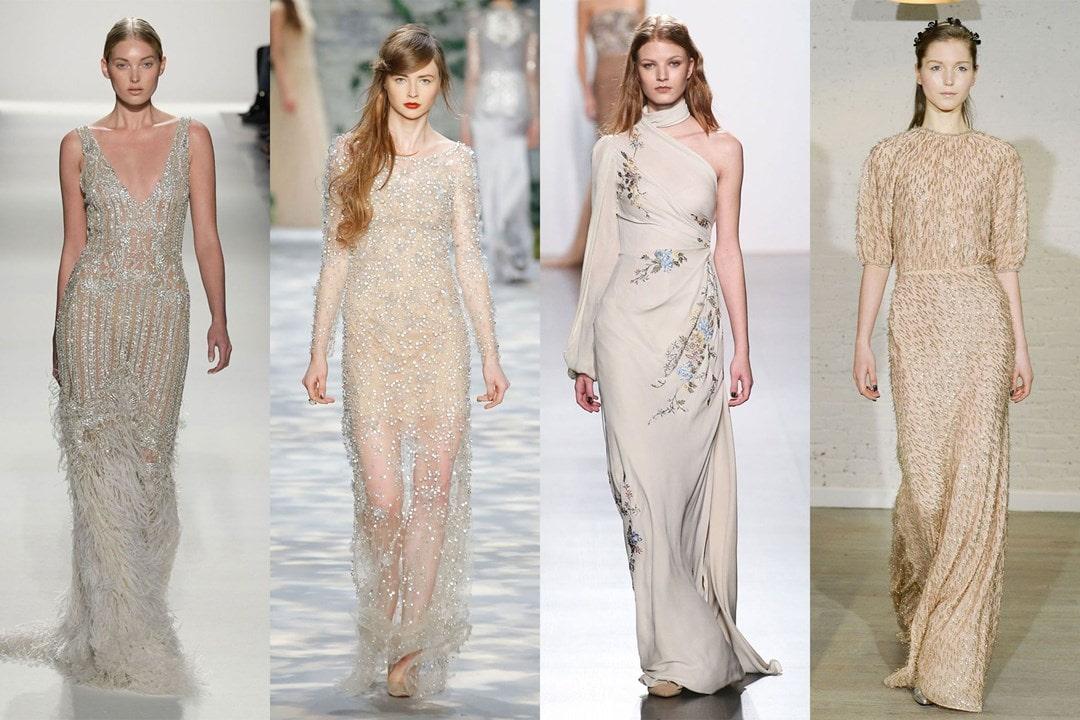 NYFW: Os vestidos de noiva da semana de moda de Nova York