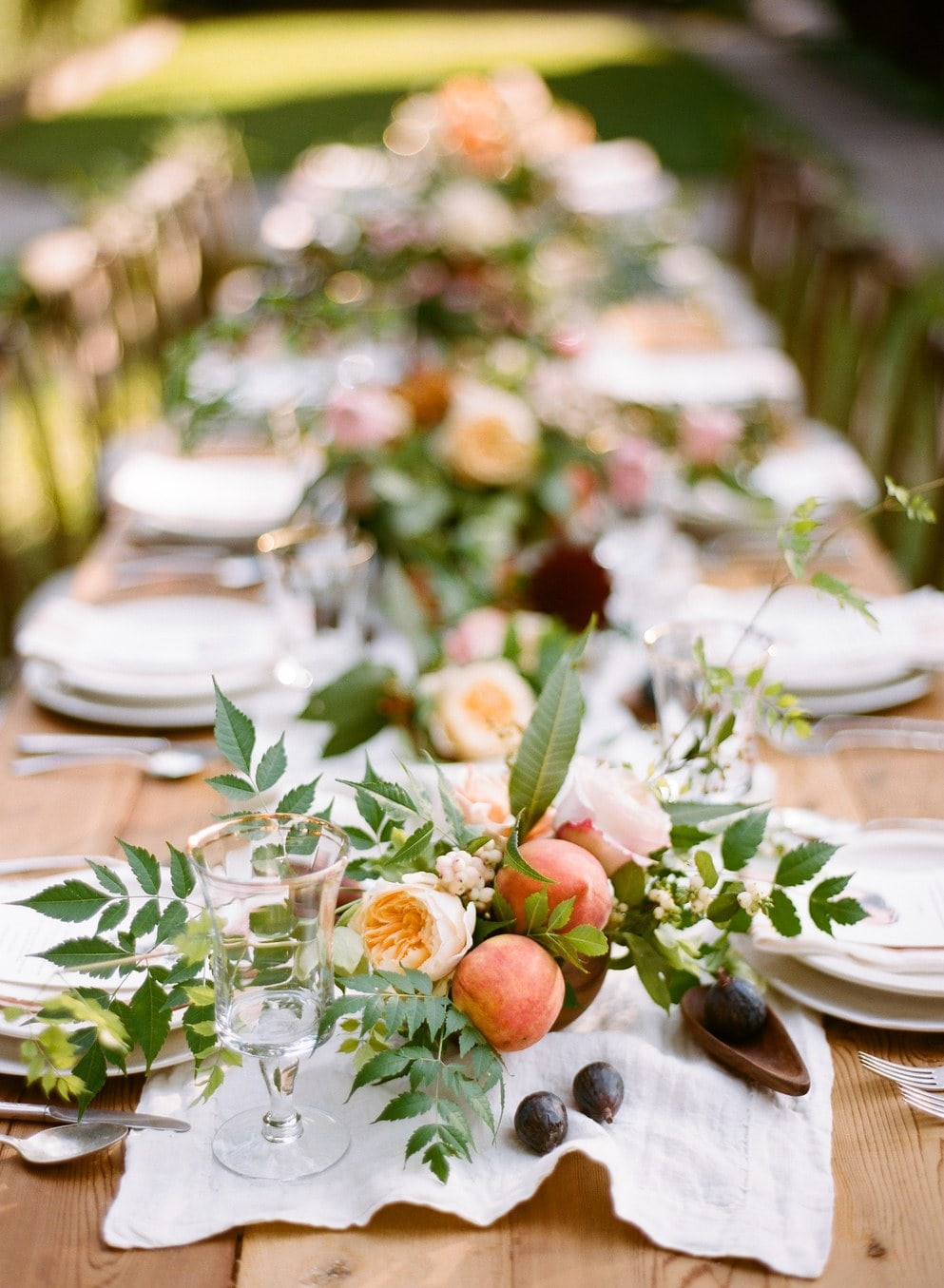 Centros de mesa com frutas para casamento r stico chique - Centro de mesa rustico ...