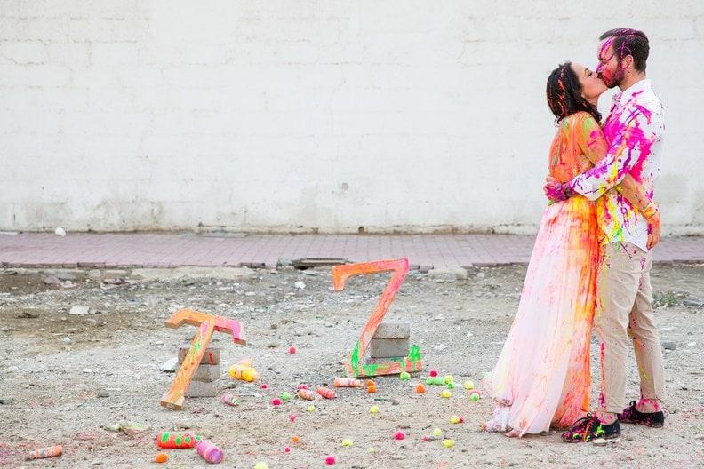 Fotos que vão fazer você sonhar com um ensaio trash the dress