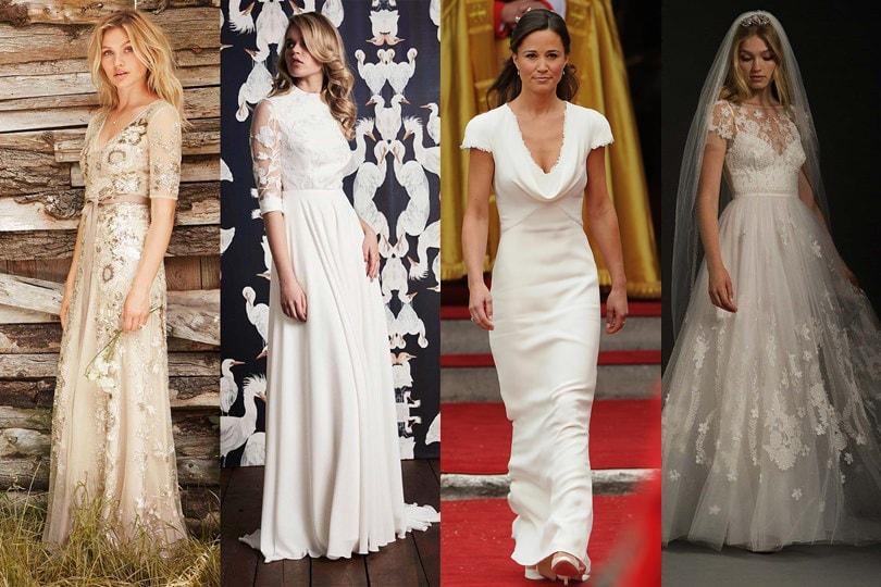 10 vestidos de noiva que adoraríamos ver em Pippa Middleton