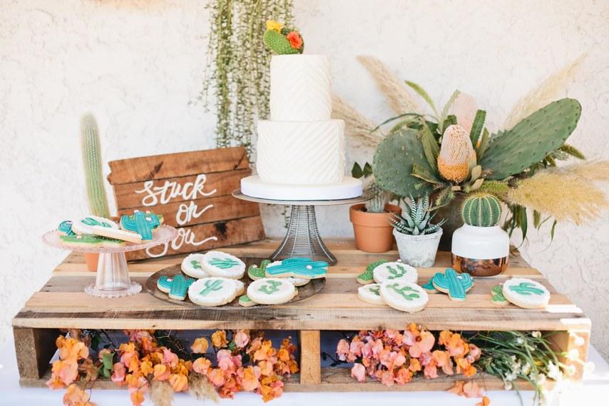 É tendência: Como usar cactos na decoração e detalhes do casamento